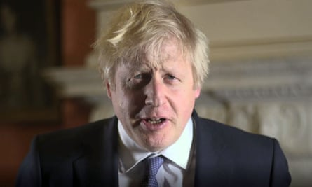 In his New Year's Day message Boris Johnson said he wanted to work with remainers as 'friends and equals'