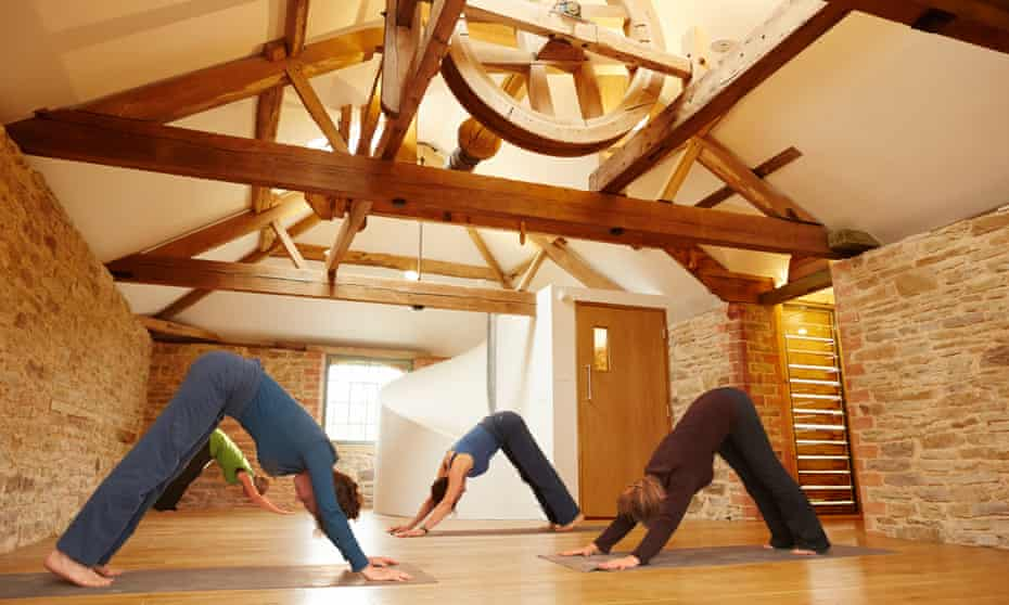 Yoga in the 17th-century Clover Mill
