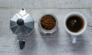 Moka Pot Machine Filter Or Instant Which Produces The