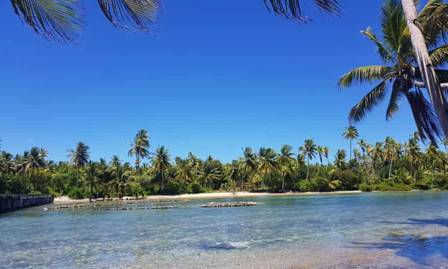 Marakei Island in Kiribati