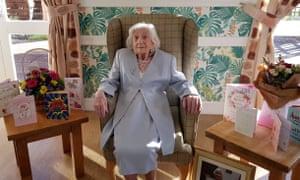 Mary 'Polly' Nicholson, 106
