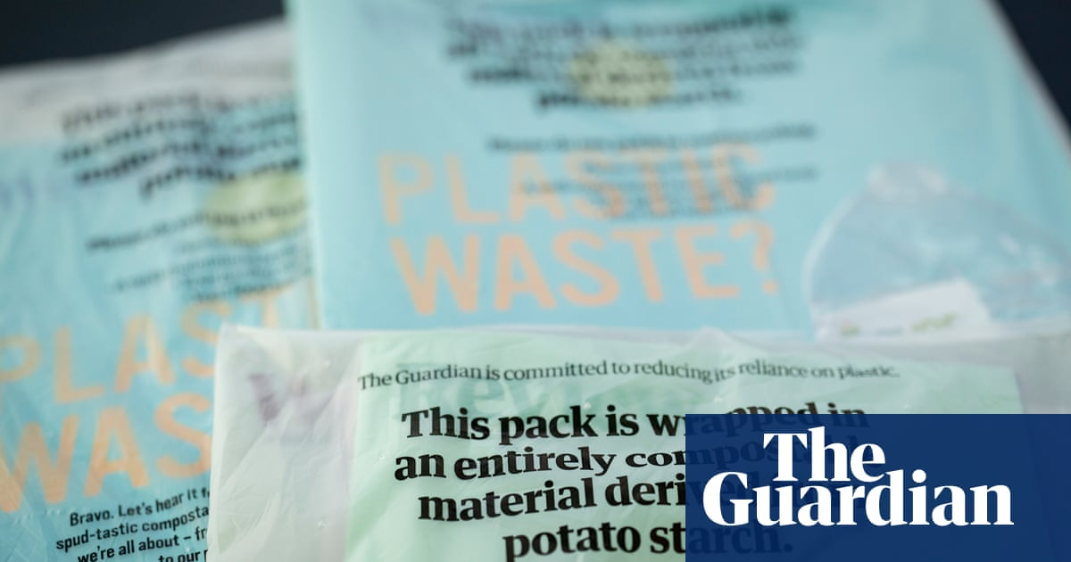 Guardian to be first national newspaper with biodegradable wrapping