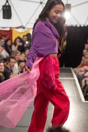 fashion-inspired 'Hope Walk'