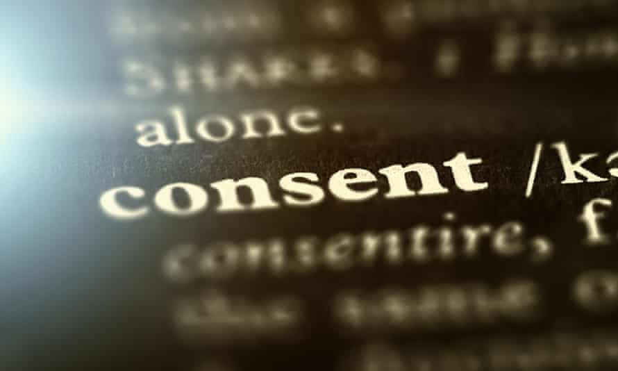 text 'consent' with definition