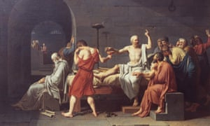 The Death of Socrates Jacques-Louis David