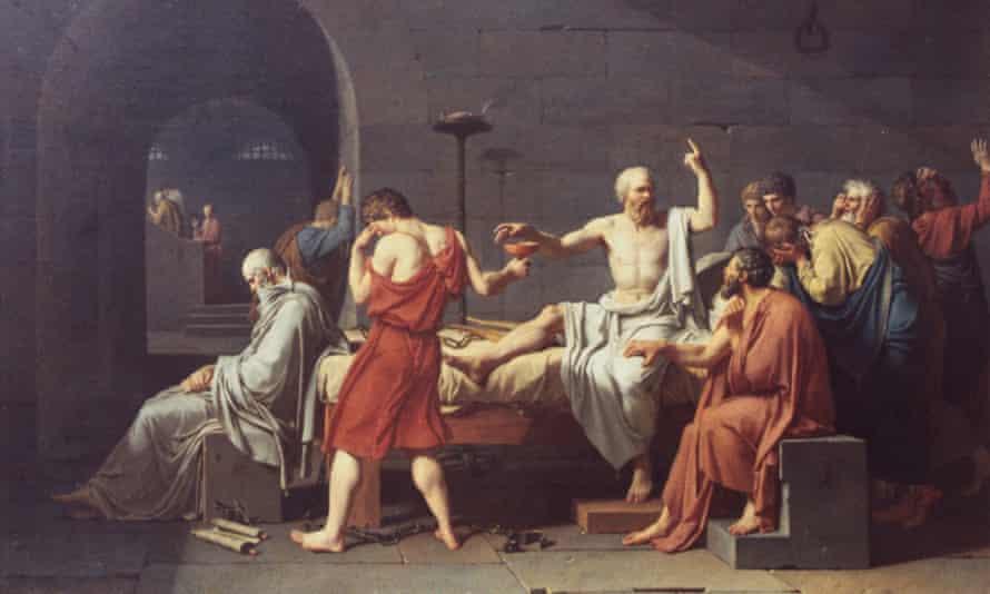 The Death of Socrates Jacques-Louis David