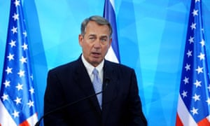John Boehner said: 'It would be naive to suggest the Iranian regime will not continue to use its nuclear program.'