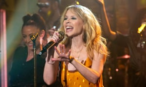 Kylie Minogue, the second confirmed booking for Glastonbury 2019.