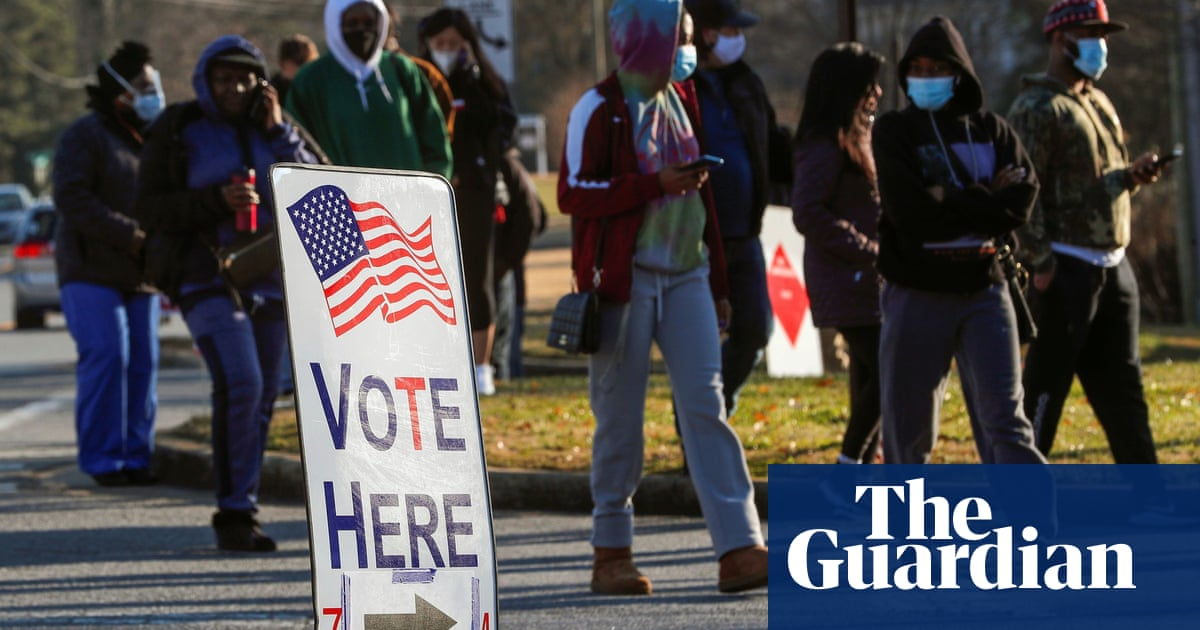 Georgia voters head to polls in critical Senate runoffs
