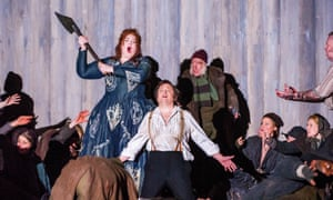 An English National Opera production Norma by Vincenzo Bellini, at the London Colise