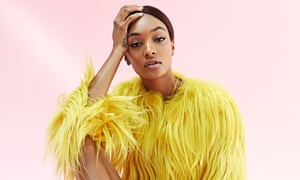 'I don't like to hold on to anything negative': Jourdan Dunn.