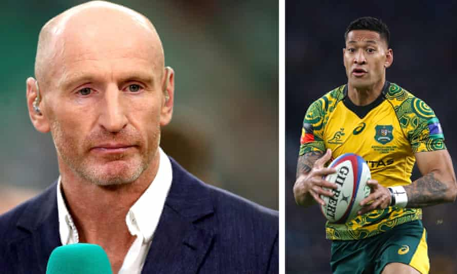 Gareth Thomas said fans should be allowed to air their thoughts on Catalans Dragons signing Israel Folau.