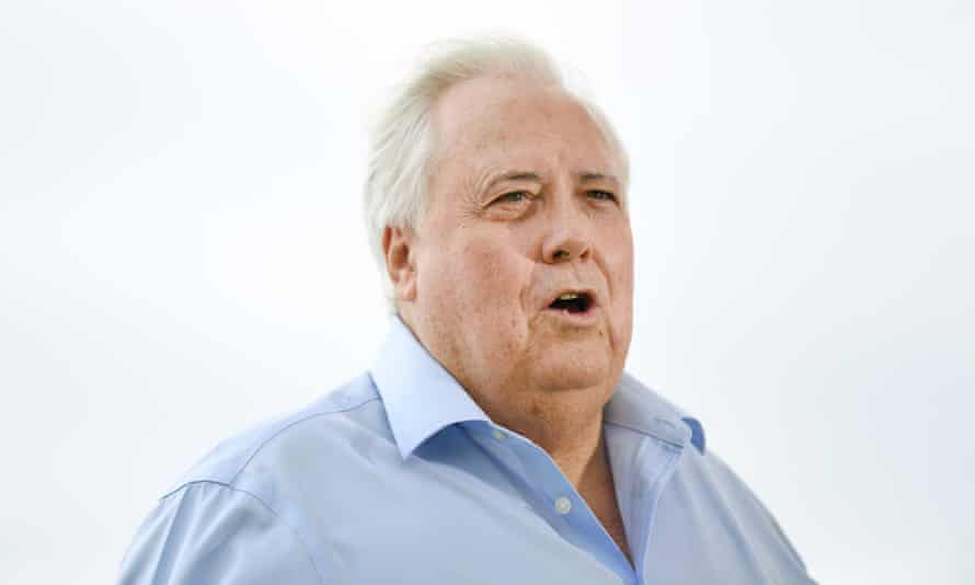 Businessman Clive Palmer at a press conference on the Gold Coast, 23 March 2020
