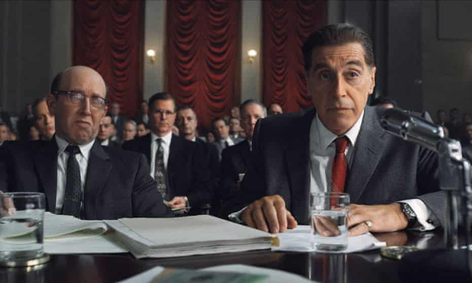 Yada yada – hurry it up, can't you? … Al Pacino in The Irishman.