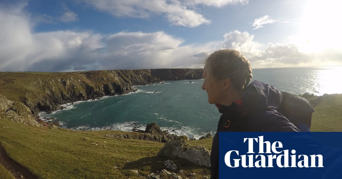 Why I'm running 5,000 miles around the coast of Britain solo