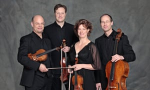 Stately and autumnal … Mandelring Quartett.