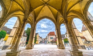 Beaune, the region's wine capital, seen from its basilica