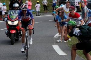 Team Arkea-Samsic rider Warren Barguil.