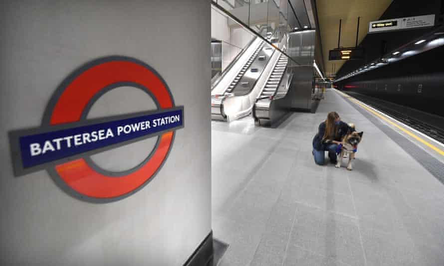 New Battersea Power Station Tube station