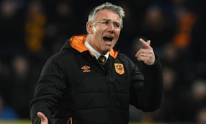 Nigel Adkins took over at Hull City in December 2017.