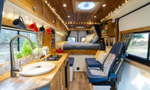 Quirky Campers' Sassenach campervan