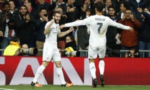 Nacho of Real Madrid