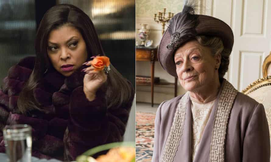 Empire's Taraji P Henson and Downton Abbey's Dame Maggie Smith.