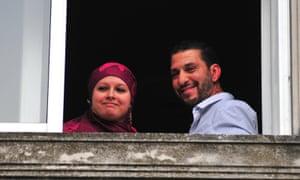 Former Tunisian Guantanamo prisoner Adel bin Muhammad El Ouerghi with his wife Samira