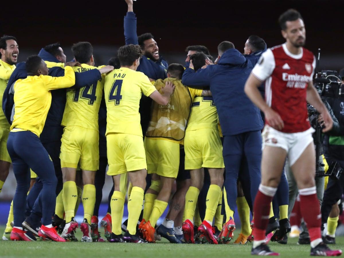 Arsenal 0-0 Villarreal (1-2 agg): Europa League semi-final, second leg – as  it happened   Football   The Guardian