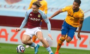 Jack Grealish makes his return to the Aston Villa side.