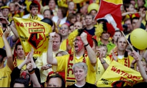 Watford fans gear up for the play-off final having reached Wembley thanks to a penalty shootout victory over Birmingham in the semi-finals