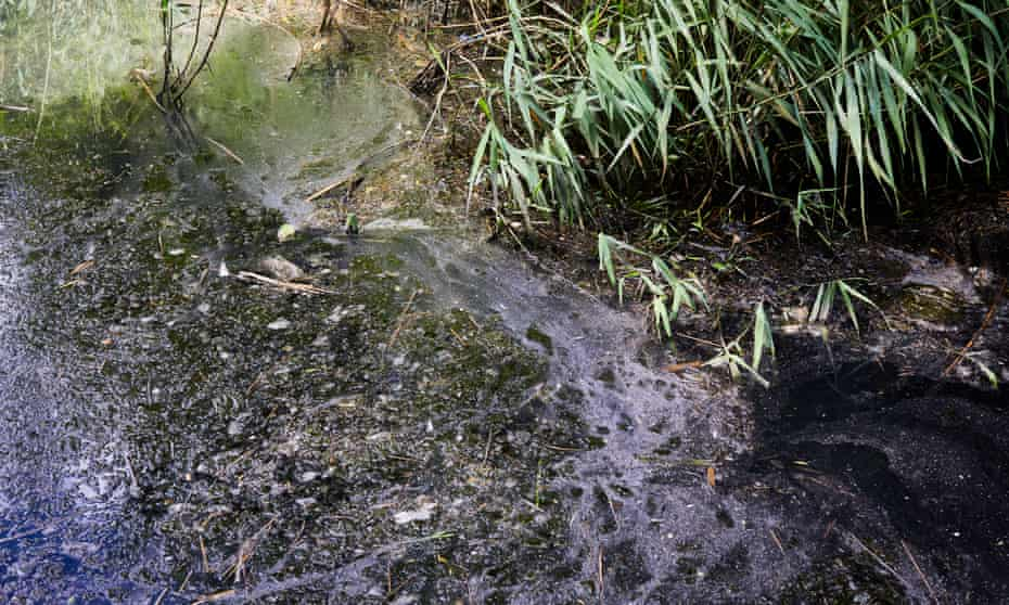 The combined sewer overflow at Mulberry Court pumped untreated waste 91 times into the waterway last year.