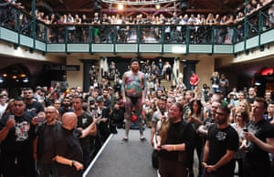 A competitor at the London Tattoo Convention