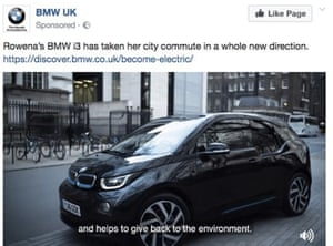 BMW electric car ad banned over misleading 'clean car