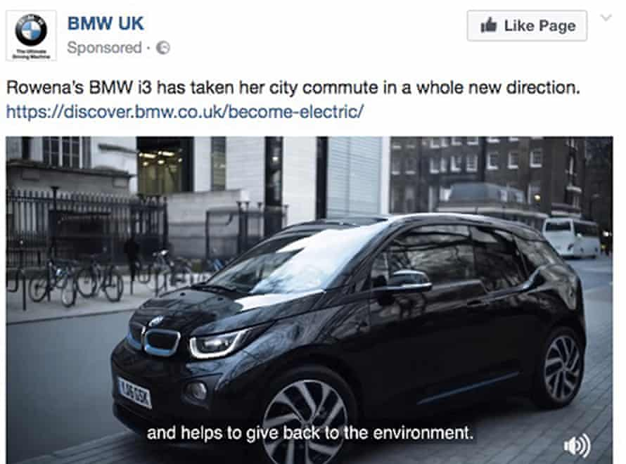 The ASA banned this BMW ad for falsely claiming that its i3 is a zero-emissions 'clean car' that 'helps to give back to the environment'