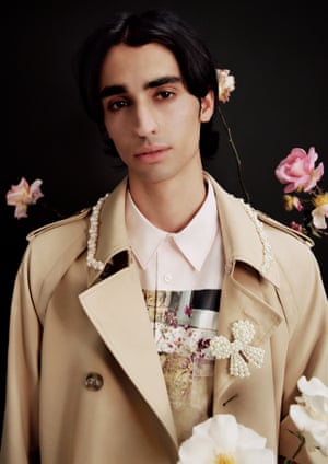 """""""My guy friends are really happy, as they've been asking me to do menswear for a decade now! said Rocha over email. """"Finally they have something especially for them. I love the men's trench with the embellished collar."""""""