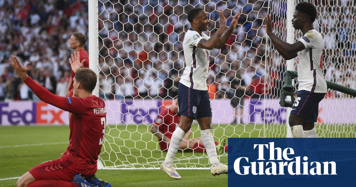 Sterling and Saka lead charge as England throw off old anxieties