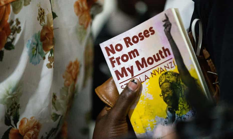 No Roses from My Mouth is a collection of 158 poems Nyanzi wrote in prison.