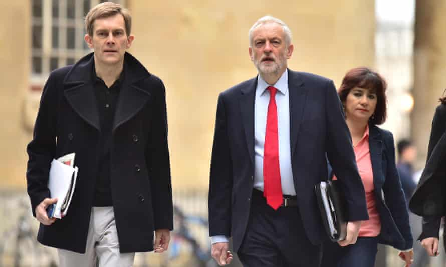 Bower claims that adviser Seumas Milne began working for Corbyn before he left the Guardian newspaper.