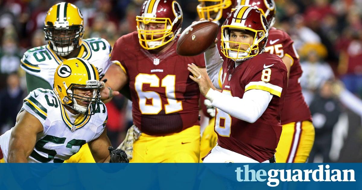 bb8edf048 Washington s Cousins rips fading Packers apart on Sunday Night Football