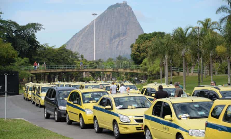 Rio Uber protest