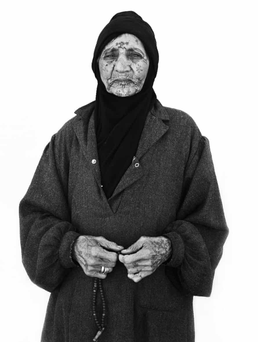 Shamah Darweesh, over 90 years old, from Homs