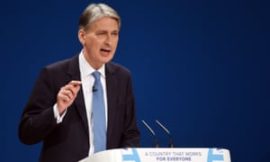 Chancellor of the Exchequer Philip Hammond.