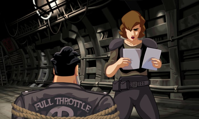 After 20 years Full Throttle remains a narrative video game