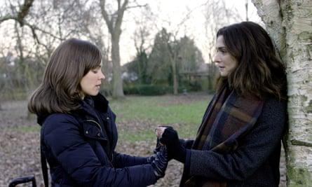 Rachel McAdams and Rachel Weisz in Disobedience