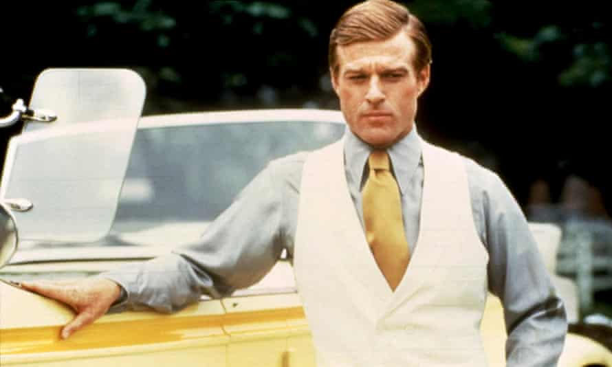 Redford in The Great Gatsby (1974).