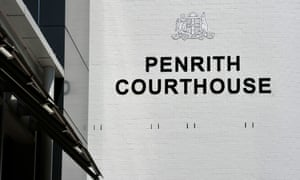 Signage at the Penrith Local Court