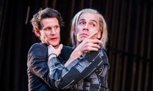 Matt Smith (Maxim) and Jonjo O'Neill (The Brute) in Unreachable