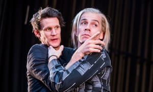 Matt Smith (left) and Jonjo O'Neill in Unreachable at the Royal Court.