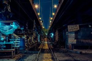 Khlong Toei shanty town, Bangkok